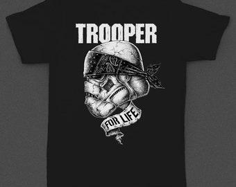 """Star Wars """"Trooper for Life"""" Bandana - Tshirt"""