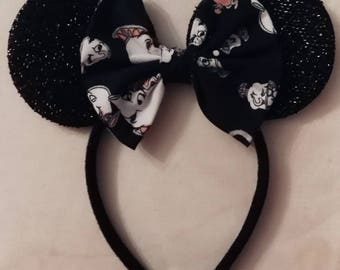 Budget Mrs Potts and Chip minnie ears.