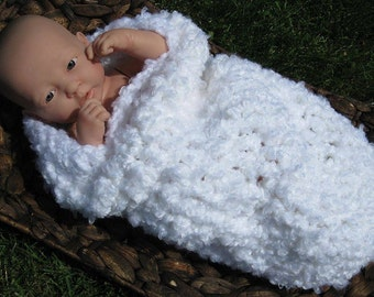 White Clouds Newborn Cocoon