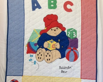 Paddington Bear Quilt