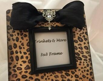 Cheetah Print Picture Frame