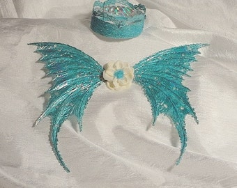 Fairy Wings, Crown or Halo for Dolls and Baby (Made to order by Request)