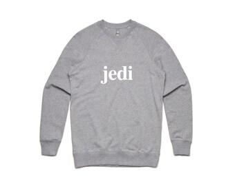 Jedi Sweatshirt - by So Effing Cute - Inspired by Star Wars