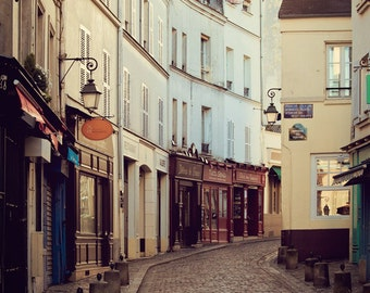 Paris Photography, Large Wall Art Prints, Travel Photography Print, Paris Prints, Montmartre, Paris Photo, French Decor - After The Morning