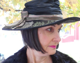 Awesome 1910's-20's Edwardian/Flapper/Downton Abbey Hat
