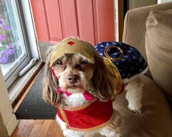 Wonder Woman Costume  for your Pup