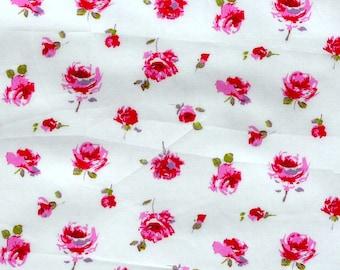 Liberty Tana Lawn fabric Rosa-9''x26'' Pink Fat Eighth