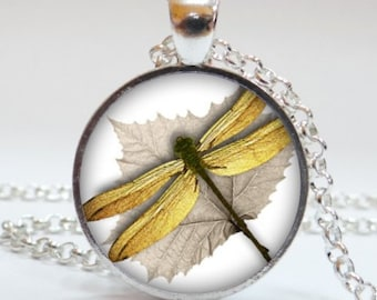 Dragonfly #4 Pendant Necklace