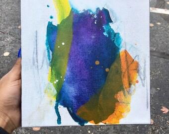 Mini Paintings, Abstract Art, Canvas Art, Acrylic Painting, Abstract Painting, Mini Artwork, Home Decor, Wall Art, Mixed Media, Small Art