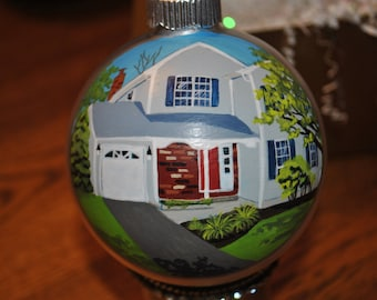 Hand Painted Home Ornament  - sold