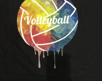 Volleyball Sweatshirt - Volleyball ColorTwist Sweatshirt - Unisex Sweatshirt