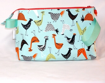 Funky Chickens Tall Mia Bag
