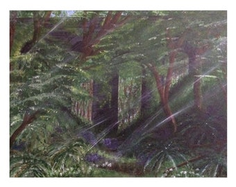Wild Viaduct- A3 prints of my Acrylic painting