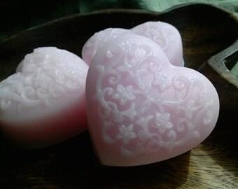 Japanese Cherry Blossom Vegan Heart Soap