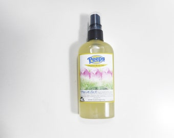 Peeps Inspired Organic Body Oil - Organic Moroccan Argan, Organic Jojoba Oil - Natural Hair Oil - 99% Natural Body Oil  Vegan Body Oil