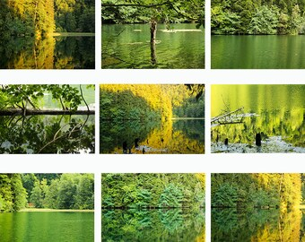 Photo set, one lake in 9 Photography.