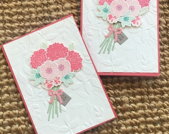 Handmade card- Just for you- Mother's Day or any occasion