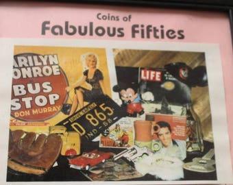 Coins of Fabulous Fifties set