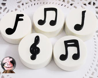 Music Notes, Music Cookies, Music Birthday, Music Party, Music Favor, Music Gift, Music Lover Gift, Music Theme, Music Wedding, Musical Note