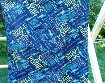 Earth Day Save the Planet Tote Bags
