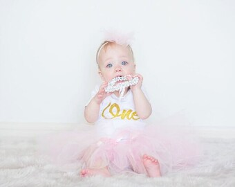 Lucille 1st Birthday Tutu Outfit
