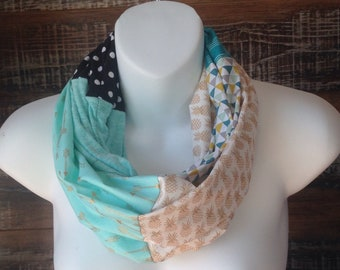 Infinity scarf - pineapple and other sweets