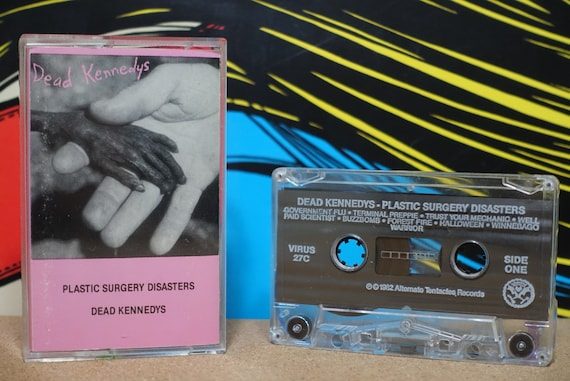Plastic Surgery Disasters by Dead Kennedys Vintage Cassette Tape