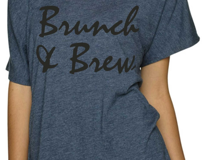 Bachelorette Party Shirts , Brunch and Brew Tshirt ,  Cute Bachelorette Shirts , bridesmaid shirts , bridesmaid shirts , bride shirt