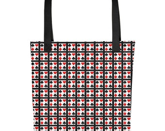 Playing Card Tote bag