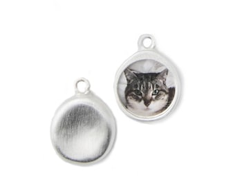 Personalized Silver Pet Charm Add on