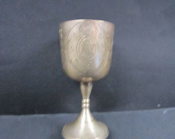 Jewish Judaic an goblet with Star of David