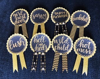 Custom Bachelorette Party Pin