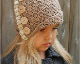Crochet PATTERN-The Jayleigh Cloche' (12/18 months, Toddler, Child, and Adult sizes)
