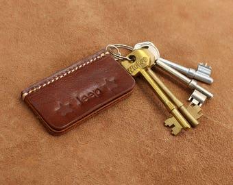 Leather Name Key Chain Keyring Key Fob Custom Leather Keychain Name Keyring