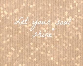 Let Your Soul Shine & Sparkle Inspiration Bundle