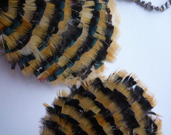 FEATHER PADS  Almond Pheasant  / 96