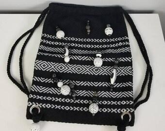DKNY Bag/BackPack Handmade in Guatemala