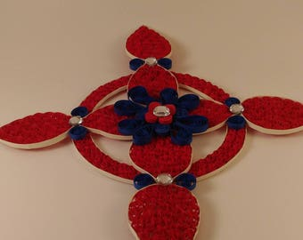 3D Cross Quilled