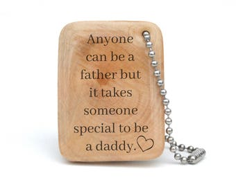 Personalized keychain for Dad, Mens personalized keychain, Custom keychain for dad