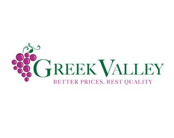 Custom Grapes Logo Design.  Premade Logo Design.  Wine, Winery, Grapes.  Customized for ANY business logo.