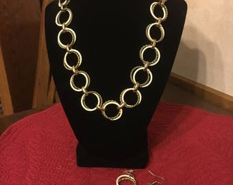 Round On Round Necklace set