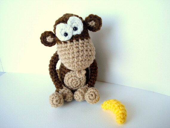 Amigurumi Monkey Patterns : Amigurumi monkey free pattern u how to amigurumi