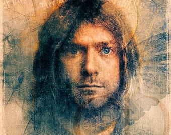 Kurt Cobain - Limited Edition Giclee Print 16 x 20