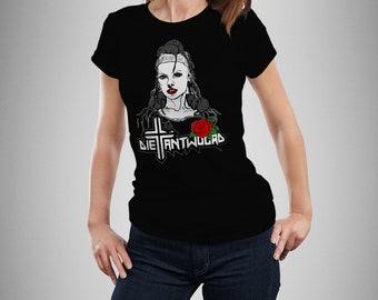 Die Antwoord Yolandi Rat Woman VISSER RAP RAVE  Woman  T-shirt