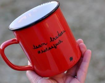 Justin trudeau mug canada flag canadian prime minister canada day coffee mug valentines day bestseller justin trudeau meme canada mug red