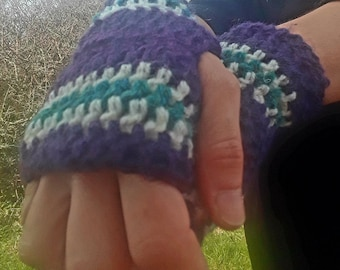 Cosy Crochet Mitts