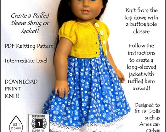 Just Like Lizzy-AG Knitting Pattern