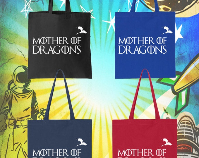 Game of Thrones / Mother of Dragons / Cotton Tote Bag