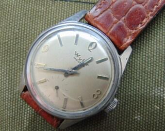 Mens Wyler Incaflex 17 Jewel Straight Wind Mechanical Vintage Watch