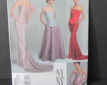 Pattern Vogue Bridal, wedding dress pattern, uncut wedding pattern, evening dress pattern, bridal original dress, designer skirt and top
